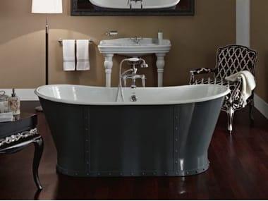 Freestanding cast iron bathtub LUXURY
