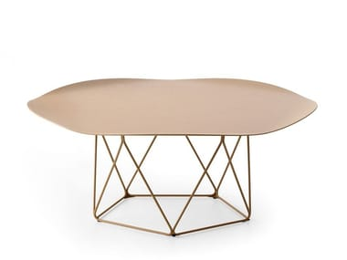 Low steel coffee table LX648 | Low coffee table