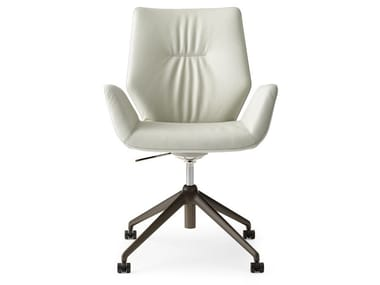 Height-adjustable swivel trestle-based executive chair LXR02 | Executive chair