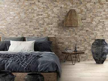 Porcelain stoneware 3D Wall Cladding with stone effect LYON 3D