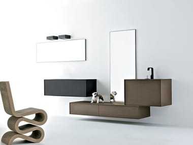 Mobile lavabo in PaperStone® Mobile lavabo in PaperStone®