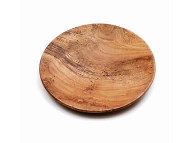 Teak dinner plate M | Plate
