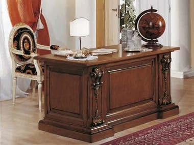 classic office desks. Solid Wood Executive Desk MACCHIAVELLI | Office Classic Desks