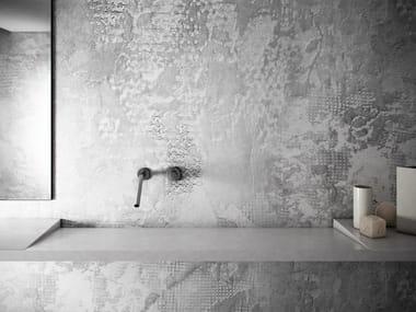 Wall effect washable GlamFusion™ wallpaper MACRAMÉ