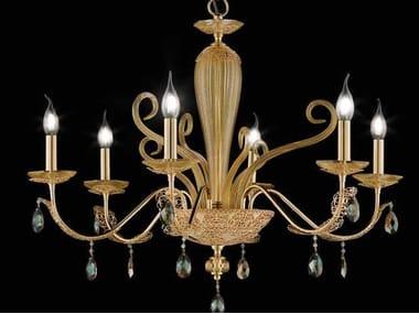 Crystal chandelier with Swarovski® Crystals MACRAMÈ L6