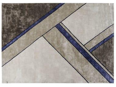 Handmade rug with geometric shapes MADISON | Rug