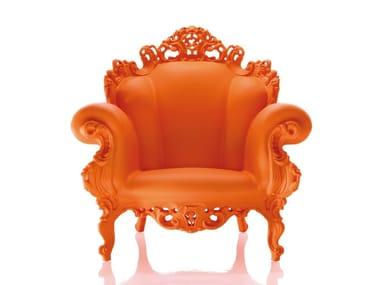 Polyethylene armchair with armrests MAGIS PROUST | Design garden armchair