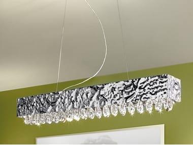 Lámpara colgante con cristales MAGMA 452 Colección Magma By