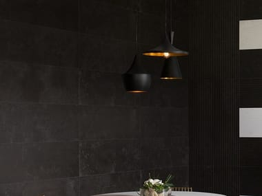 Wall tiles with marble effect MAGMA BLACK