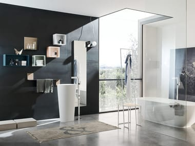 Sistema bagno componibile MAGNETICA - COMPOSIZIONE 01