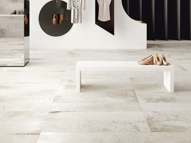 Porcelain stoneware wall/floor tiles MAGNETO ARTIC