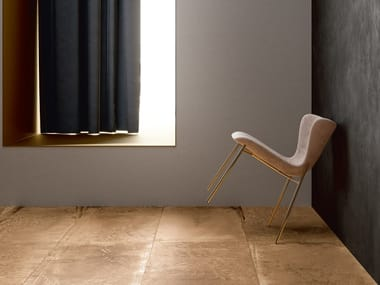 Porcelain stoneware wall/floor tiles MAGNETO GOLD
