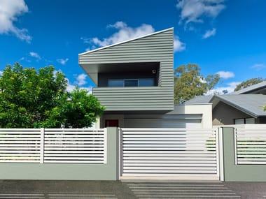 Extruded aluminium Fence / gate MAIA