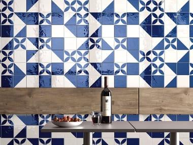 Porcelain stoneware wall/floor tiles MAIOLICA - BIANCO