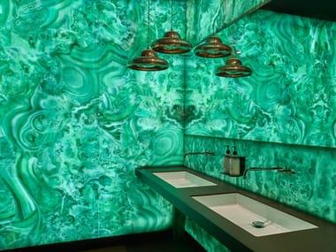 Decorative panel MALACHITE EMERAUD