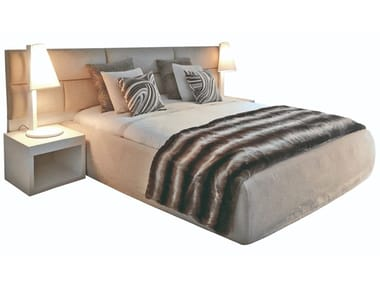 Fabric double bed MAMBO
