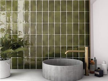 Indoor white-paste wall tiles MANACOR