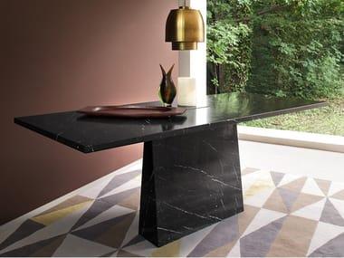 Tavolo rettangolare in marmo INCAS | Tavolo in marmo