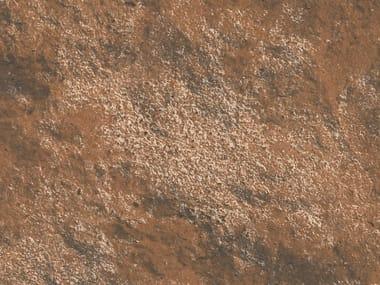 Pavimento/rivestimento in gres porcellanato effetto mattone MANHATTAN RED