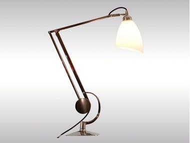 Lampada da scrivania con braccio flessibile MANTODEA | Lampada da scrivania