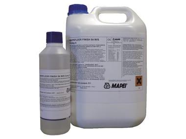 Finitura poliuretanica alifatica satinata MAPEFLOOR FINISH 54 W/S