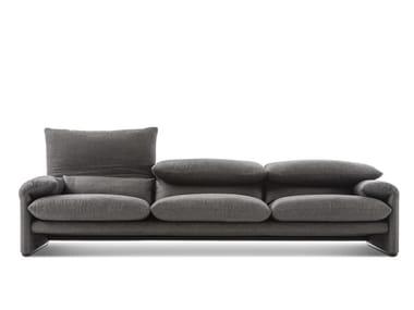 3 seater fabric sofa 675 MARALUNGA MAXI / 40 MAXI