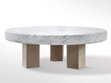 Round marble coffee table SPAN | Marble coffee table