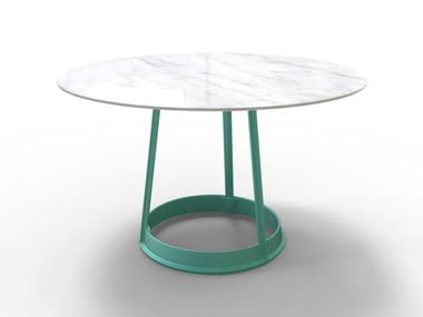Round table BRUT | Marble table