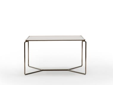 Square glass coffee table MARCEL | Square coffee table
