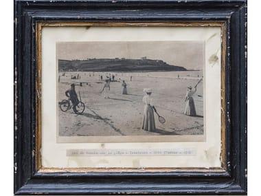 Foto in bianco e nero con cornice in legno MARE S 14