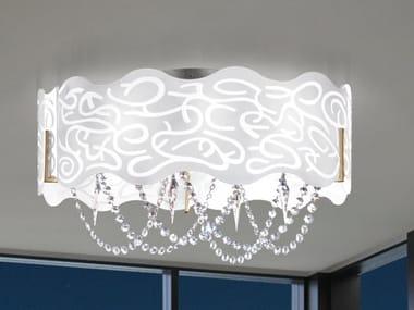 Lampada da soffitto in vetroceramica MAREA 492 | Lampada da soffitto