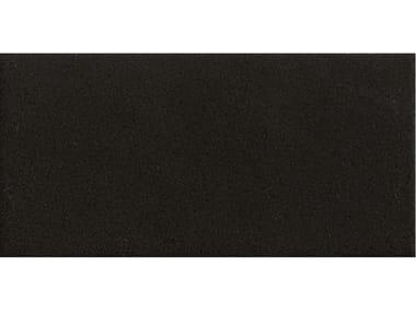 Pavimento/rivestimento in gres porcellanato smaltato MARGHE HALF BLACK