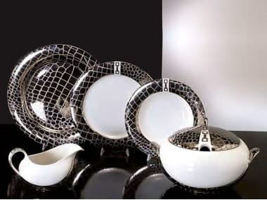 Porcelain plates set MARGHERITA | Plates set