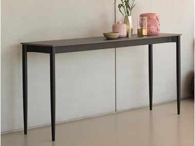 Rectangular Xeramica console table MARGUERITE | Console table