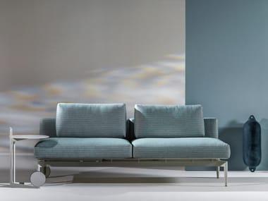 Convertible Batyline® garden sofa MARGUERITE | Garden sofa