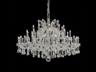 Metal chandelier with Swarovski® Crystals MARIA TERESA VE 934 40 / 12