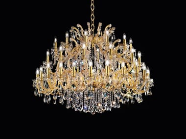 Metal chandelier with Swarovski® Crystals MARIA TERESA VE 988