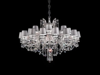 Metal chandelier with Swarovski® Crystals MARIA TERESA VE 991