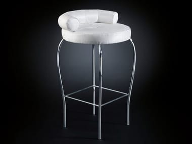 Fabric stool with footrest MARILEN | Stool