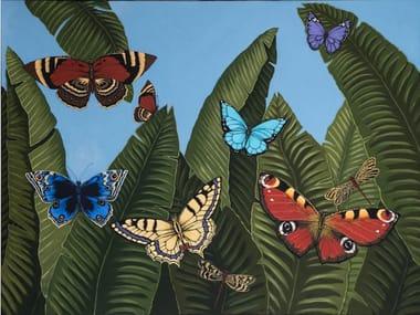 Canvas Painting Mariposas de día