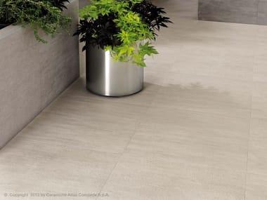 Pavimento per esterni in gres porcellanato effetto pietra MARK FLOOR | Pavimento per esterni in gres porcellanato