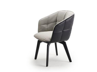 Chair with high armrests MARLA ARMCHAIR HIGH