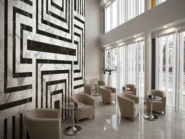 Nonwoven wallpaper with marble effect MARMARA
