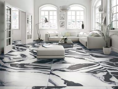 Pavimento/rivestimento in gres porcellanato effetto marmo MARMI COVELANO