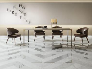 Pavimento/rivestimento in gres porcellanato effetto marmo MARMI INVISIBLE GREY