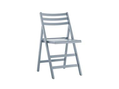 Folding beech chair MARTIN 457