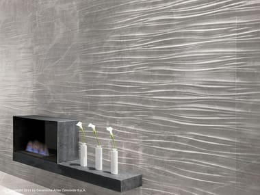 White-paste 3D Wall Cladding MARVEL PRO WALL | White-paste 3D Wall Cladding