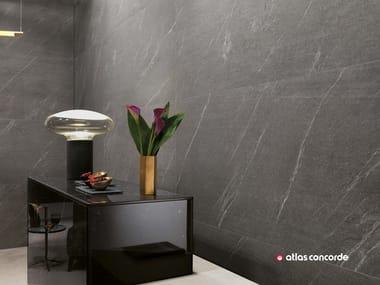 Rivestimento in gres porcellanato effetto pietra MARVEL STONE WALL | Rivestimento effetto pietra