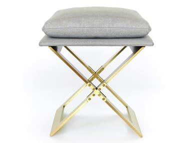 Folding stool with integrated cushion MARX