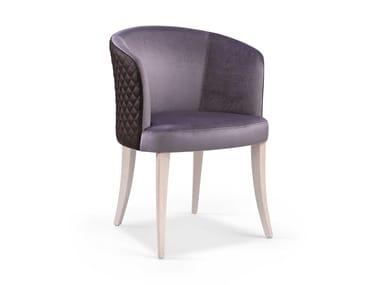 Cadeira estofada de tecido MARY